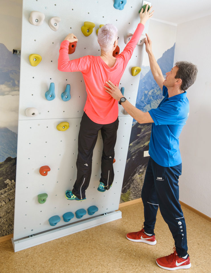 Praxis Ehmann - Klettern